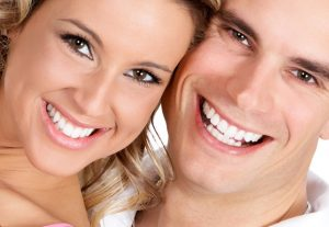 teeth whitening couple